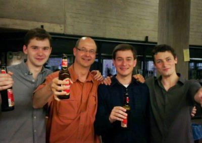 Alexey, Wetzel, Ricardo e Iury